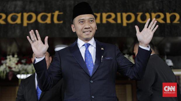 Politikus Partai Demokrat Edhie Baskoro Yudhoyono jadi pimpinan Banggar DPR.
