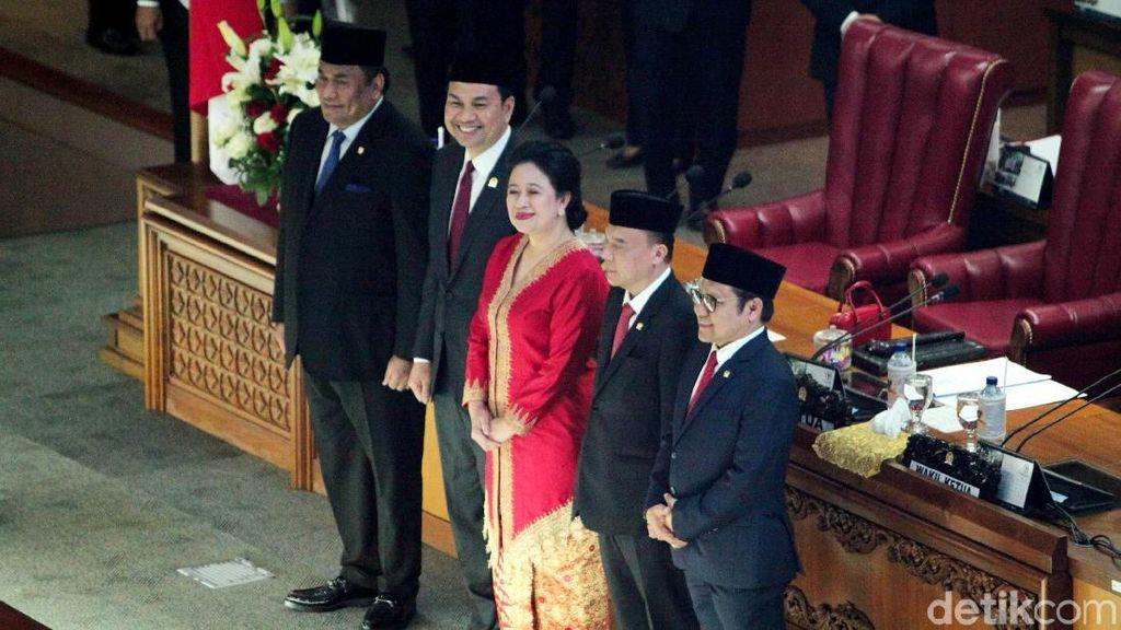 Resmi Jadi Ketua DPR, Puan Semringah Banget