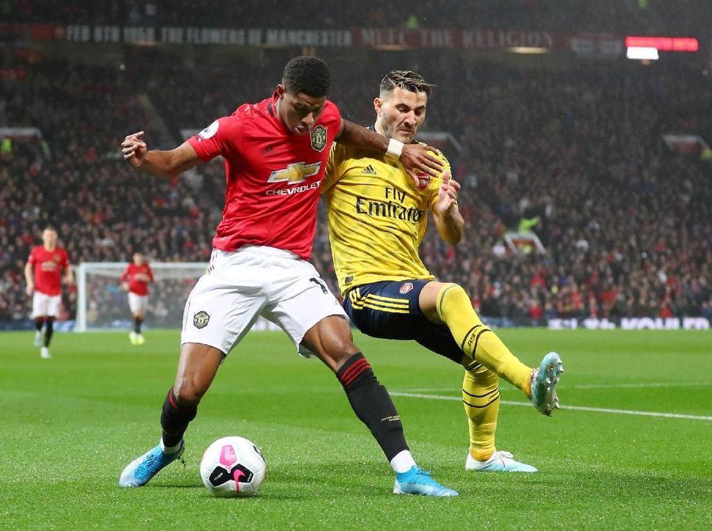 MU Vs Arsenal: McTominay Bawa Setan Merah Memimpin di Babak I