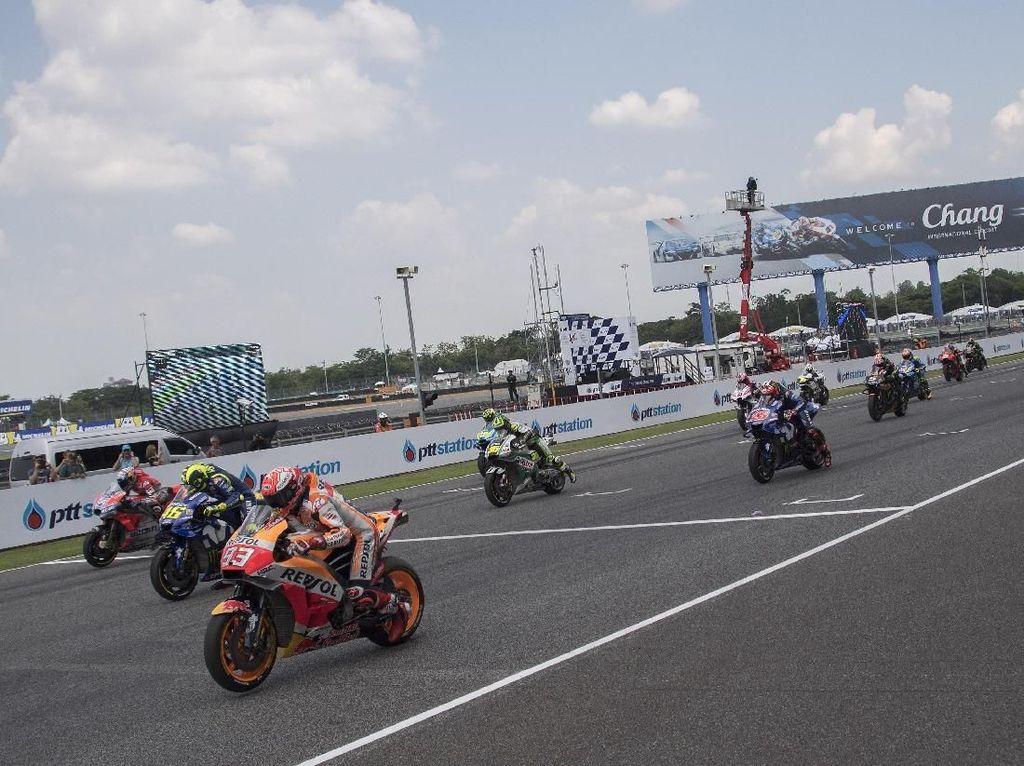 MotoGP Thailand Berpotensi Ditunda karena Virus Corona