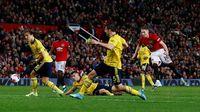 Ragu-ragu, Arsenal pun Cuma Dapat Satu Poin dari Markas MU