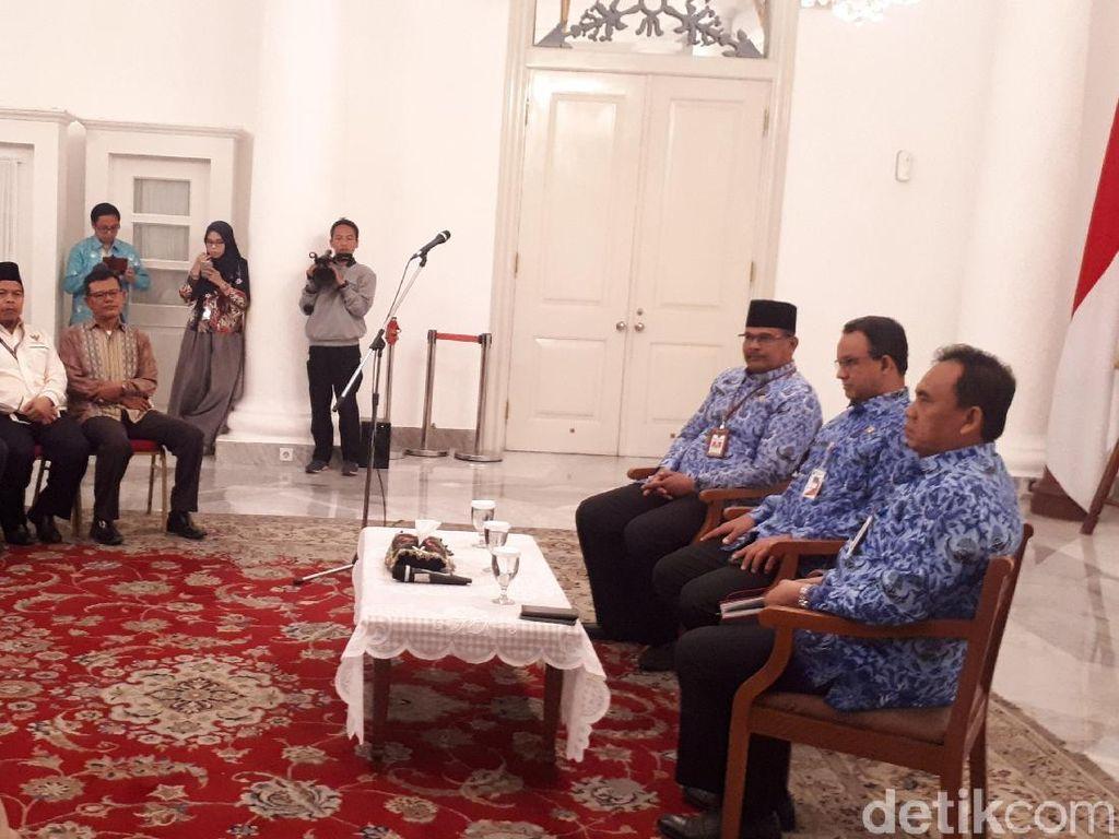 Anies Apresiasi Satgas Karhutla DKI yang Bantu Padamkan Hotspot di Jambi