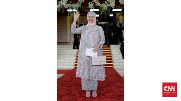 Anggota DPR periode 2019-2014 dari fraksi Gerindra, Rachel Maryam. (CNN Indonesia/ Adhi Wicaksono)
