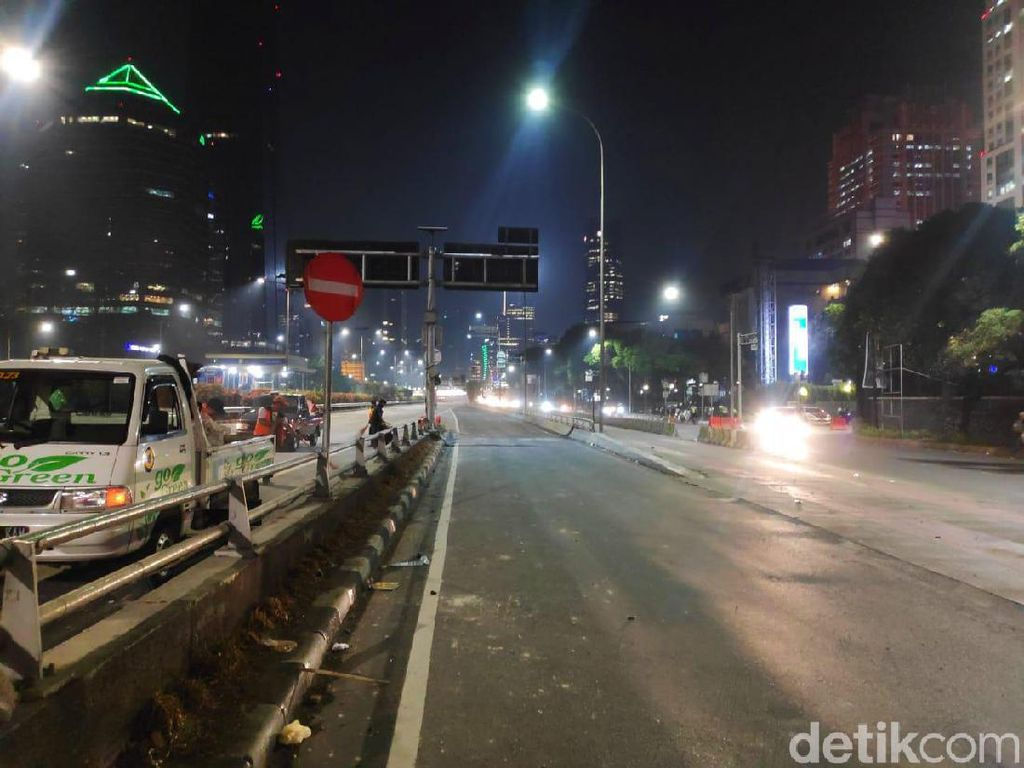 Kondisi Jakarta Terkini Dini Hari Ini