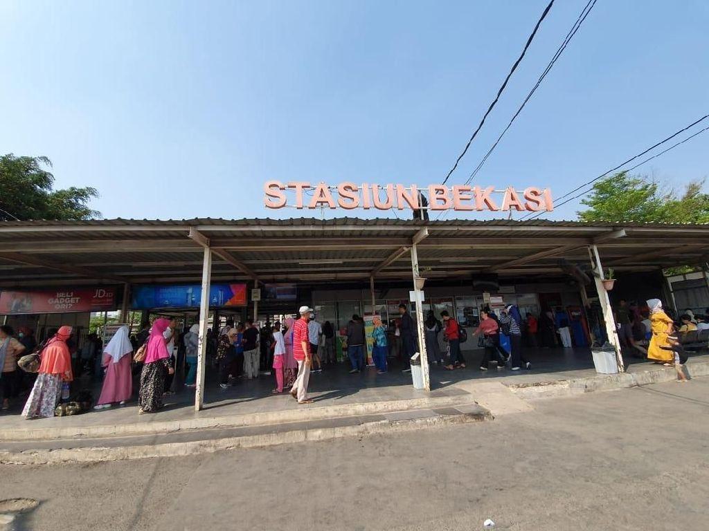 Revitalisasi Stasiun Bekasi, Fasilitas Dibuat Ramah bagi Penumpang Difabel