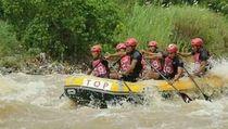 Arung Jeram Cisameng, Destinasi Wisata yang Juga Lahirkan Atlet
