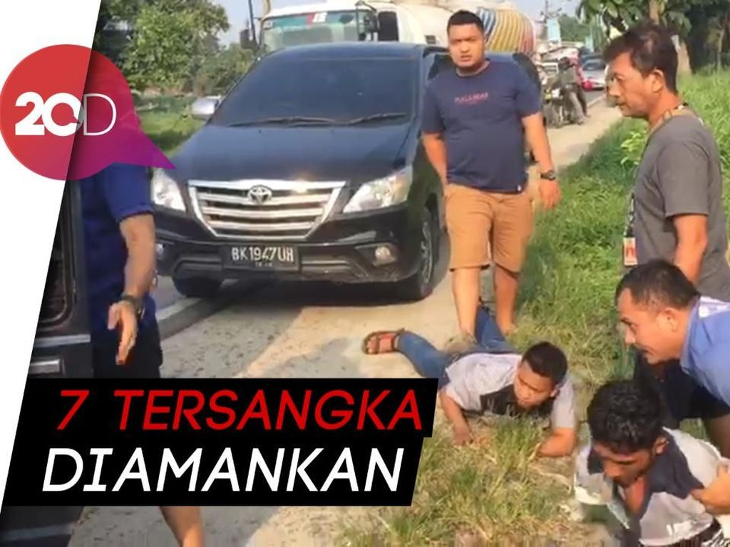 Detik-detik Penangkapan Bandar Jaringan LP Tanjung Gusta