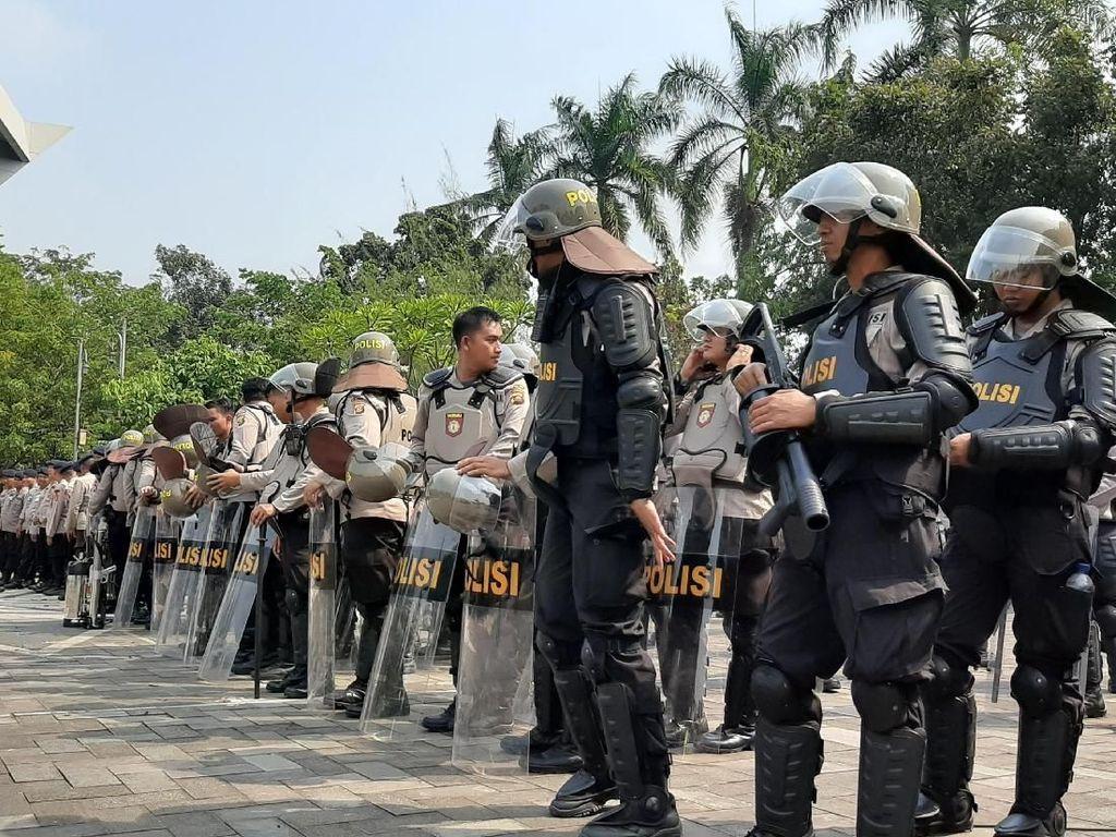 Mahasiswa Kembali Aksi di Palembang, 1.085 Polisi Disiagakan
