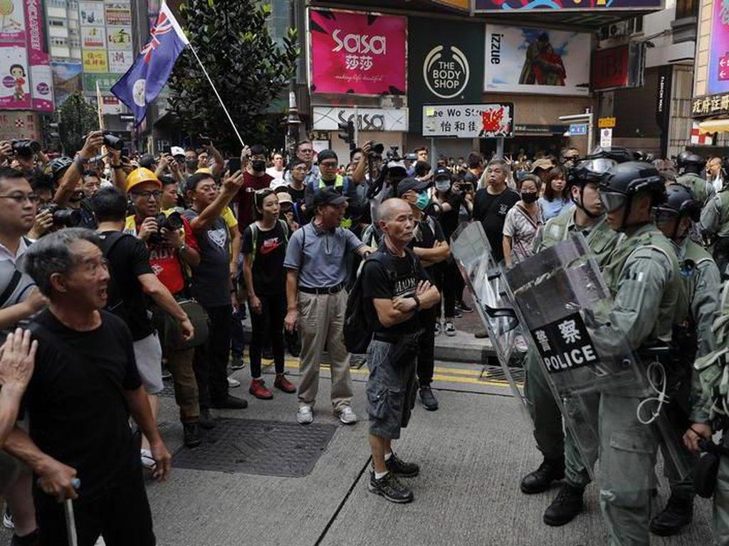 Jurnalis Indonesia Tertembak di Demo Hong Kong, KJRI: Tembakan Meleset