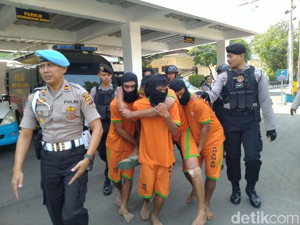 5 Penganiaya Polisi di Bogor Menyerang dengan Brutal