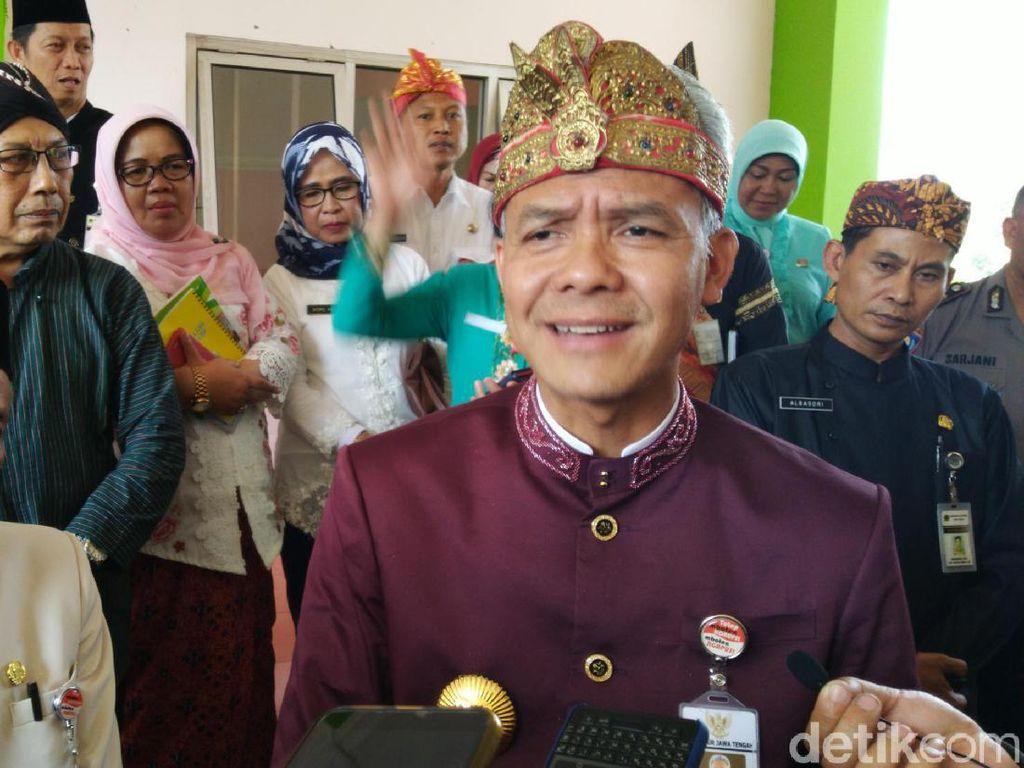 Ganjar Ajak Alumni UGM Berkontribusi di Pemerintahan Jokowi-Amin
