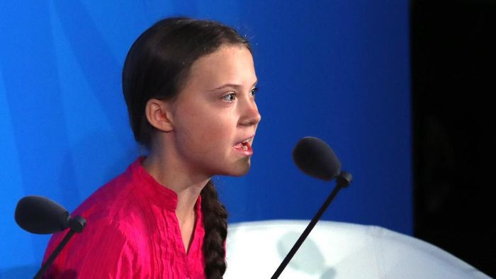 Aktivis lingkungan Greta Thunberg. (Foto: Spencer Platt/Getty Images)