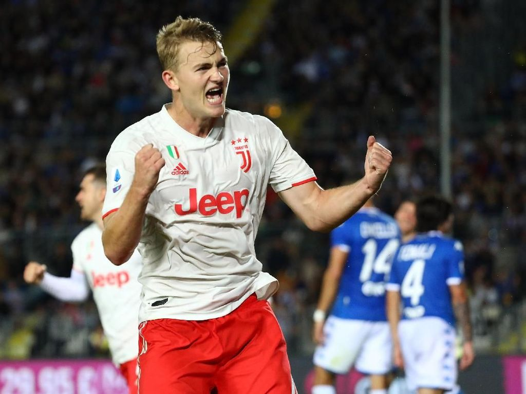Pelajaran Berharga yang Didapat De Ligt di Juventus