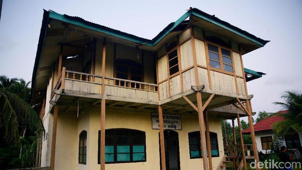 Rumah Minahasa Ini Jadi Check Point Lintas Batas Negara di Miangas