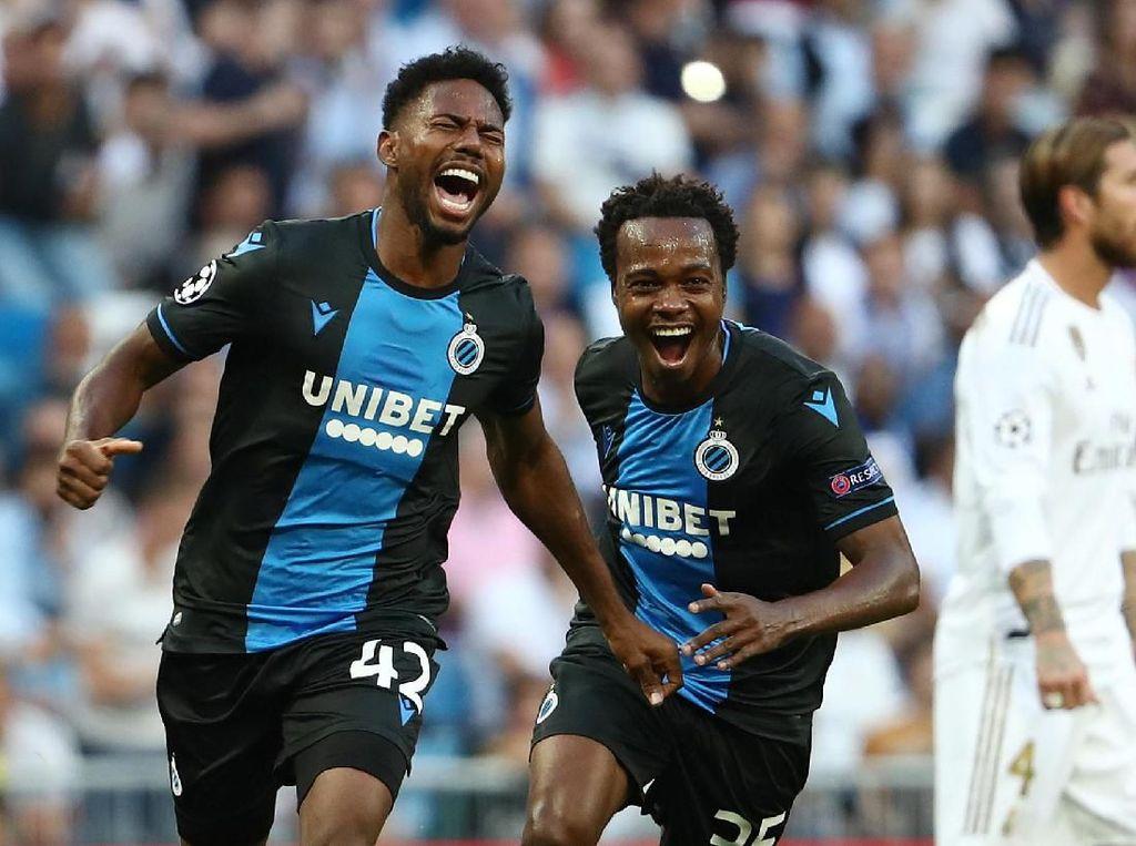 Babak Pertama Tuntas, Brugge Ungguli Madrid 2-0!