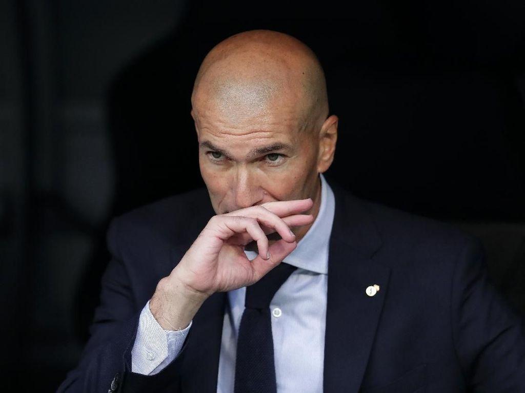 Tanggapan Zidane Soal VAR Anulir Gol Sevilla ke Gawang Madrid