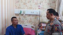 Ke RS Polri, Tito Karnavian Jenguk 7 Polisi Korban Ricuh Demo DPR