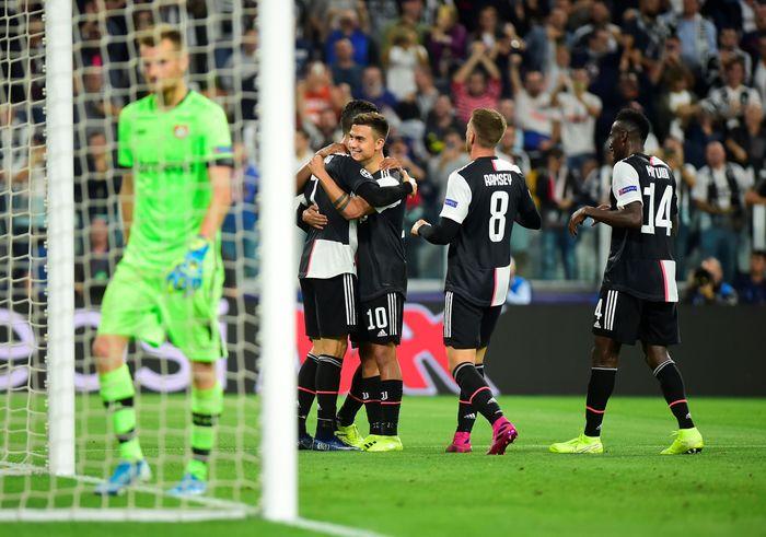 Juventus meraih tiga poin perdananya di Liga Champions 2019/2020.