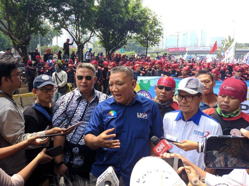 Massa Minta Jokowi Proburuh: Harusnya Tak Ada Lagi yang Ditakuti