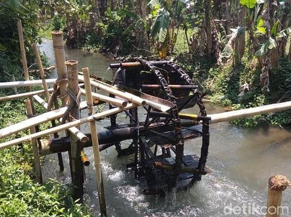 Kincir Air Selamatkan Petani di Magelang Saat Musim Kemarau