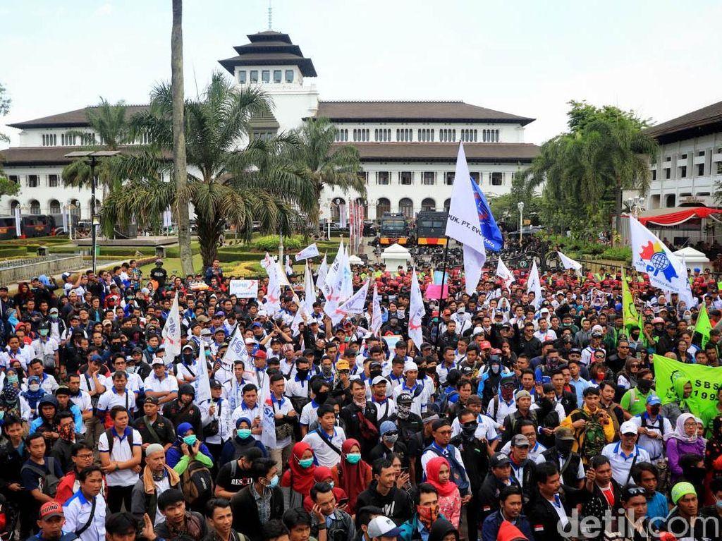 Massa Buruh Akan Demo 4 Hari Tuntut Ridwan Kamil Hapus Soal Penangguhan UMK