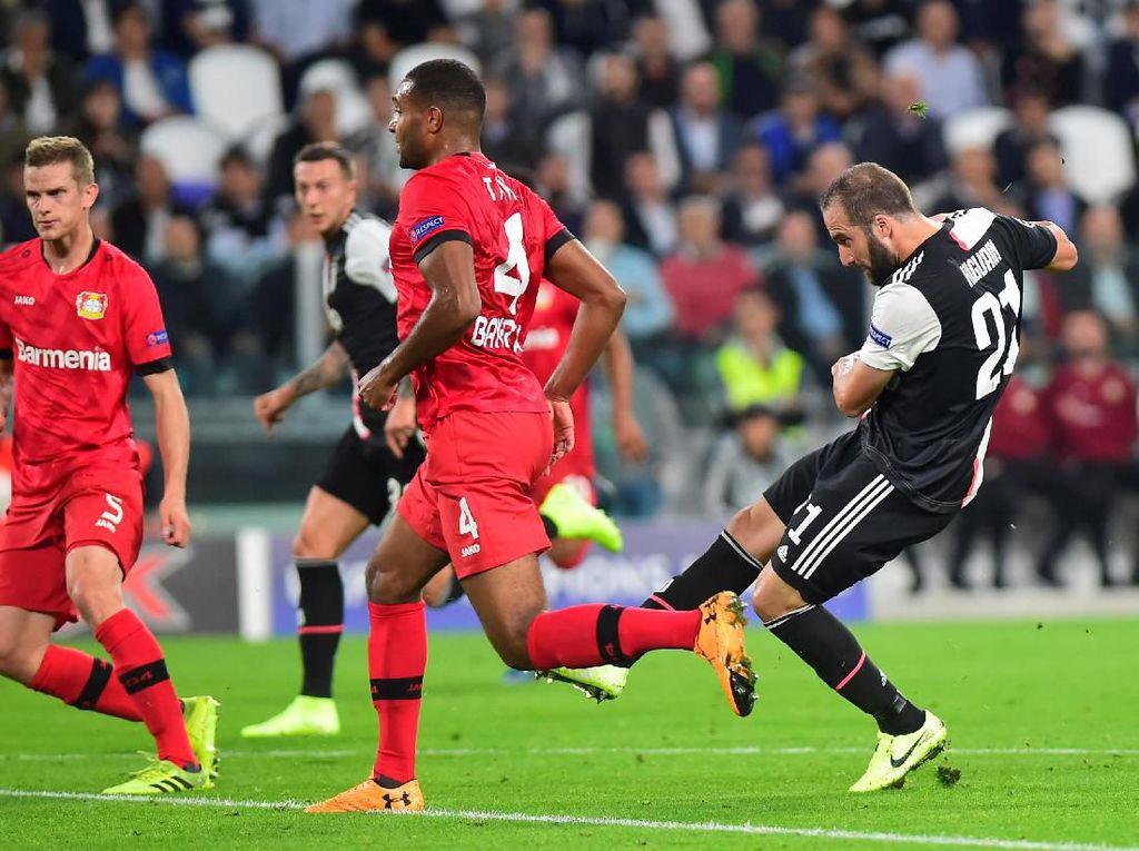 Juventus Vs Leverkusen: Higuain Bawa Bianconeri Sementara Unggul 1-0