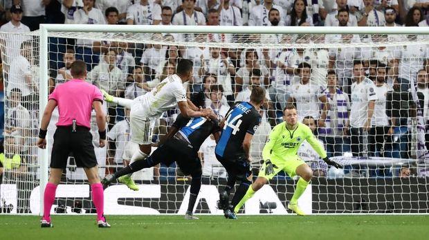 Laga Real Madrid vs Club Brugge