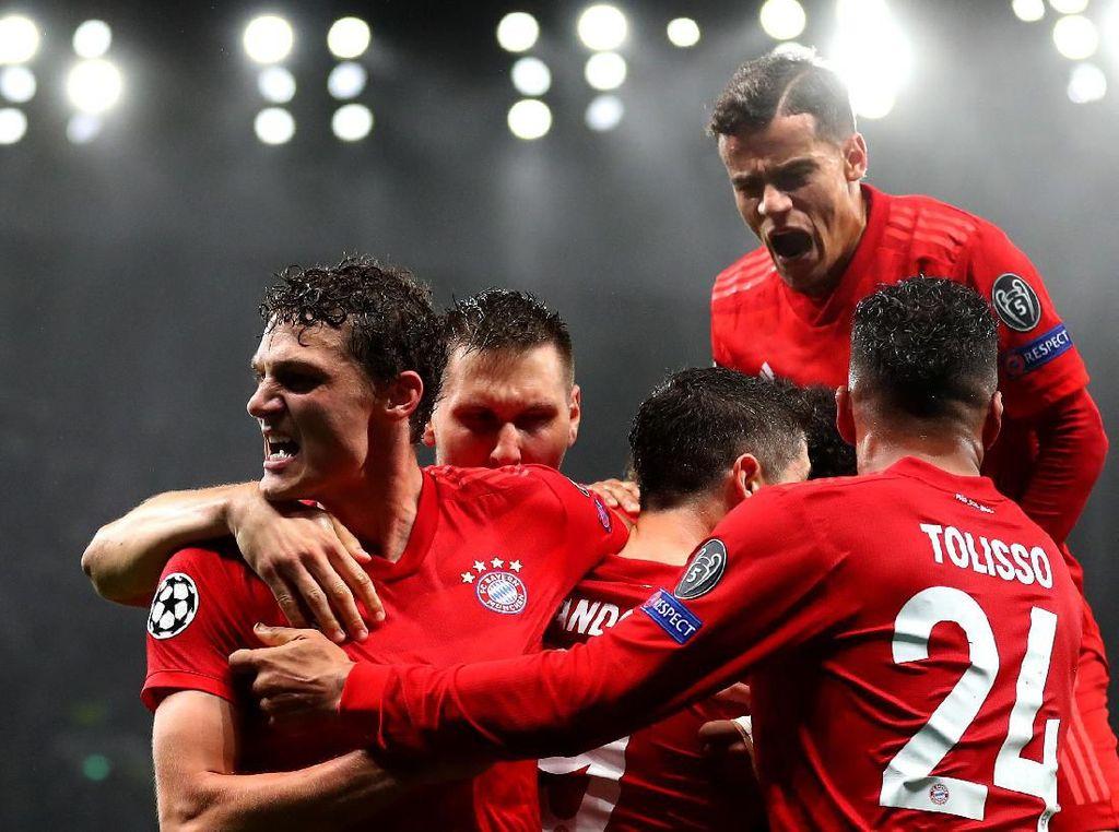 Gol Kedua Jadi Penentu Kemenangan Besar Bayern