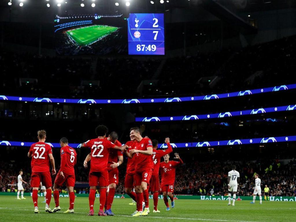 Tottenham Kalah Telak, Pochettino: Bayern Efisien Banget