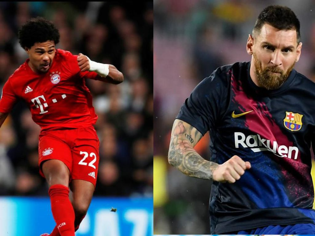 Quat-trick Gnabry dan Messi, Bagus Mana?