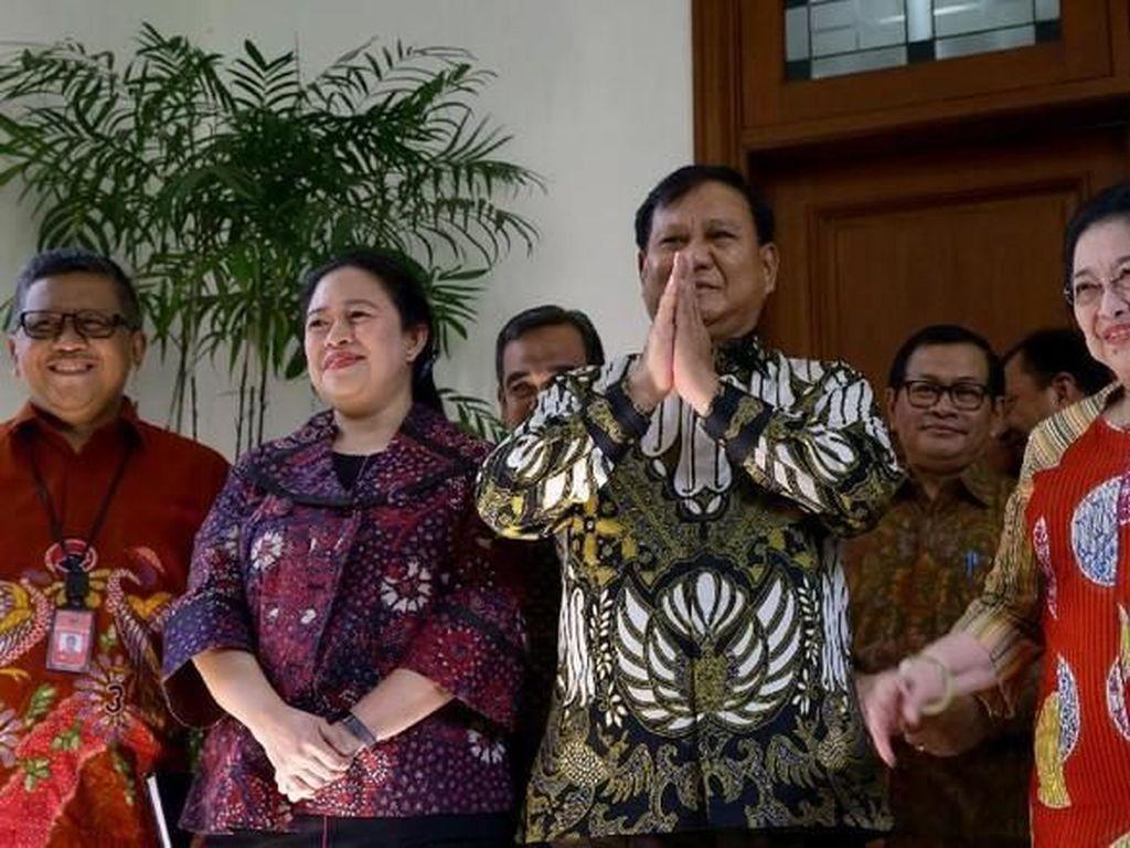 Gerindra Mau Lepas Kursi MPR, Puan: Mega-Prabowo Memang Selalu Komunikasi
