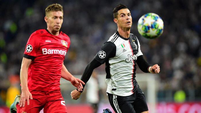 Juventus menang 3-0 atas Bayer Leverkusen (Foto: Massimo Pinca/Reuters)
