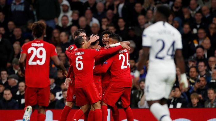 Bayern Munich menang telak 7-2 di kandang Tottenham Hotspur. (Foto: Paul Childs / Action Images via Reuters)