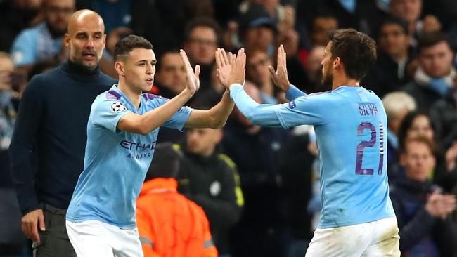 Phil Foden masuk sebagai pemain pengganti dan mencetak gol saat Manchester City menang atas Dinamo Zagreb (Foto: Clive Brunskill/Getty Images)