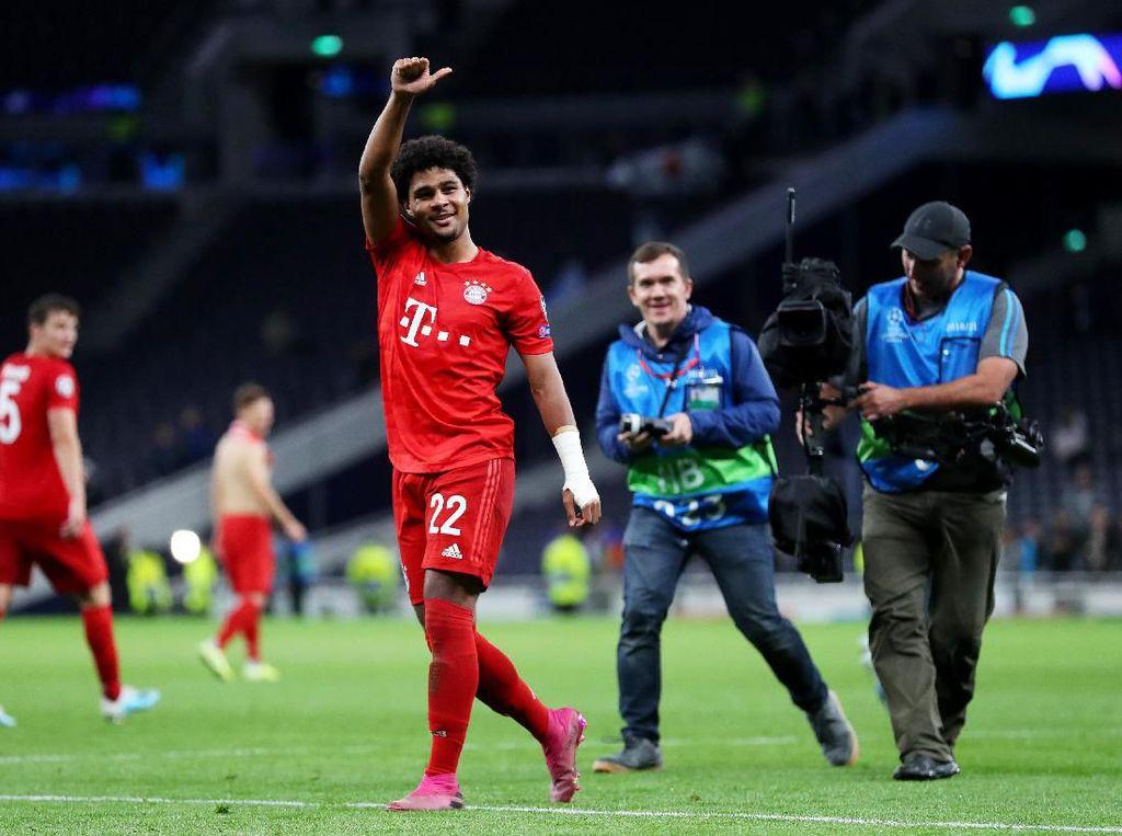 Bikin Quat-trick ke Gawang Tottenham, Gnabry Samai Torehan Messi