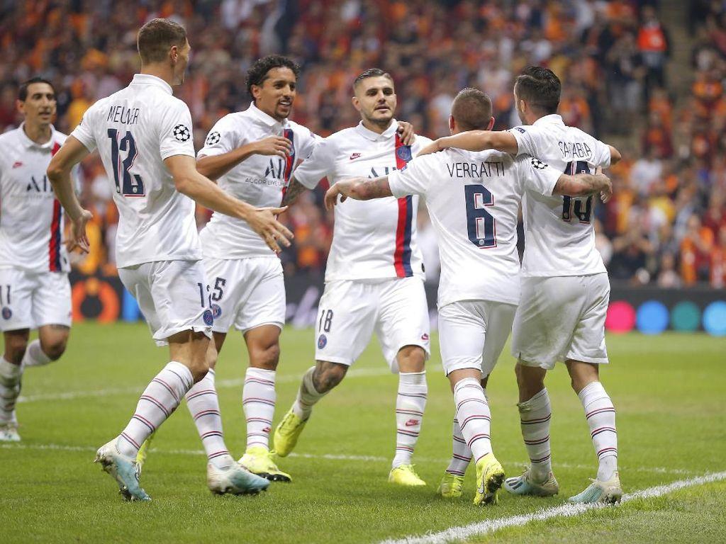Galatasaray Vs PSG: Gol Tunggal Icardi Menangkan Les Parisiens