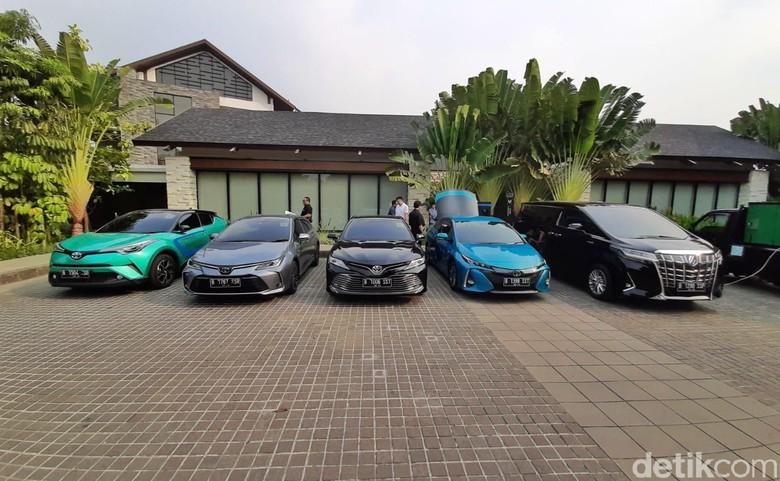 Mobil-mobil elektrifikasi Toyota. Foto: dok PT Toyota-Astra Motor