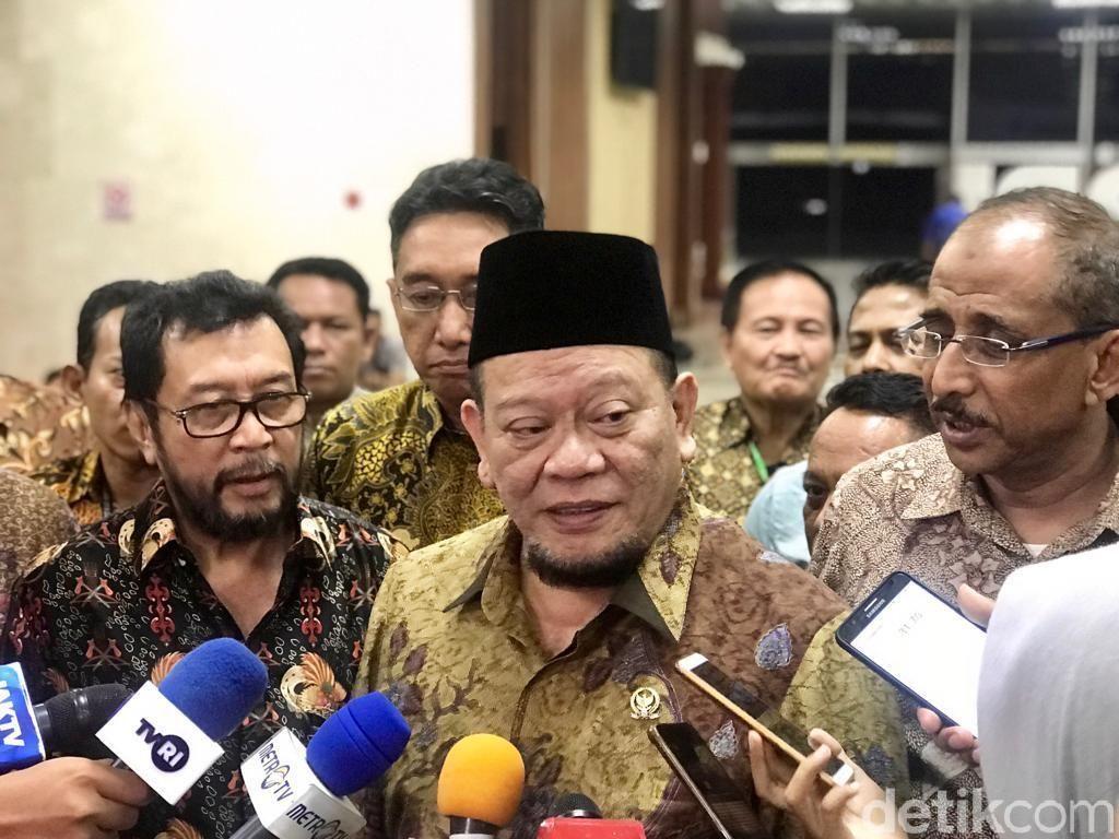 Fadel Muhammad-Yorrys Jadi Kandidat Pimpinan MPR dari DPD
