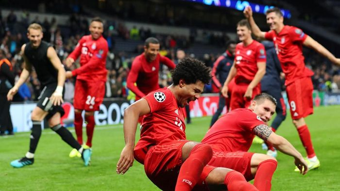 Bayern Munich berpesta gol ke gawang Tottenham Hotspur 7-2 (REUTERS/Eddie Keogh)
