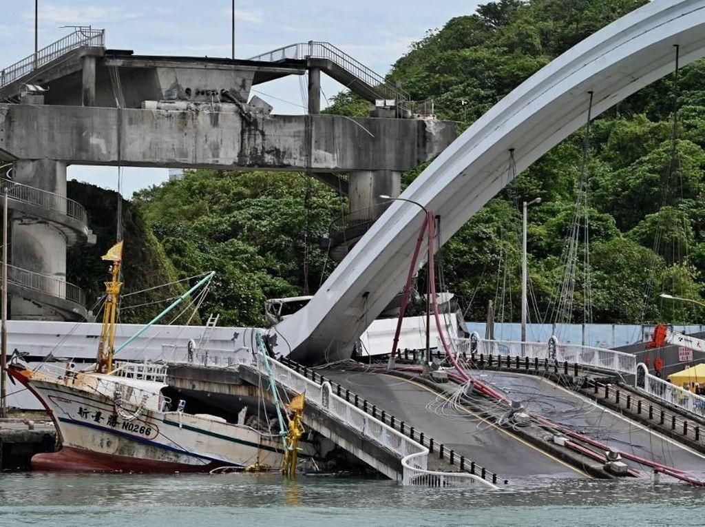 Bertambah, WNI Korban Tewas Jembatan Runtuh di Taiwan Jadi 3 Orang