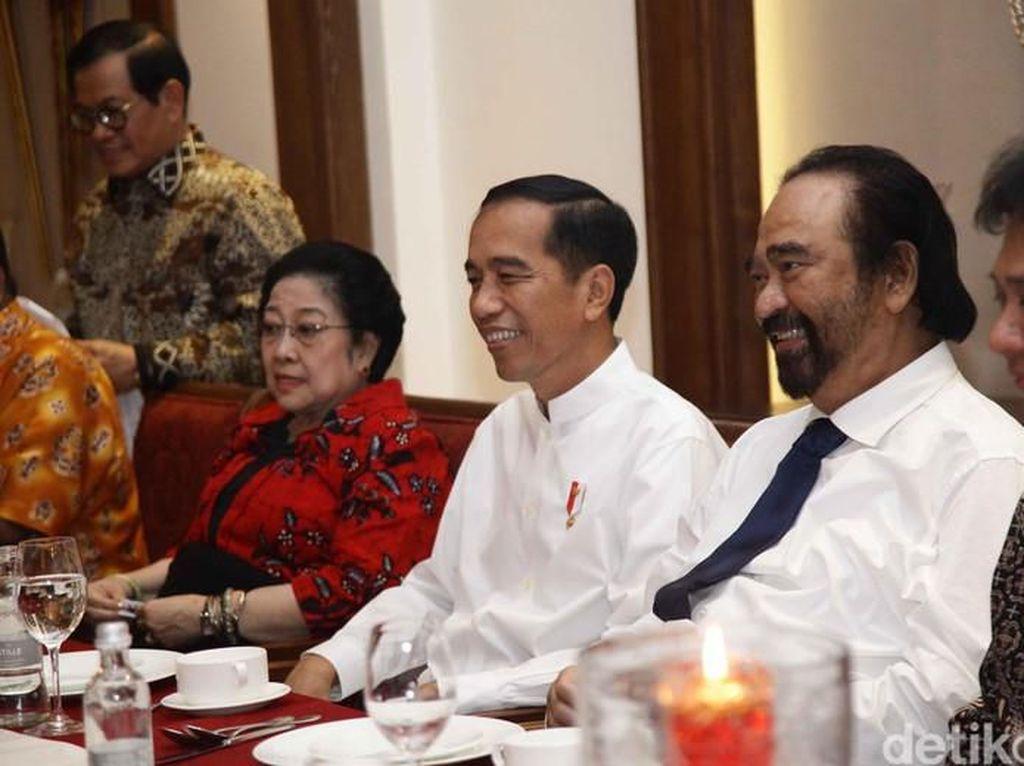 Perang Dingin Megawati Vs Surya Paloh