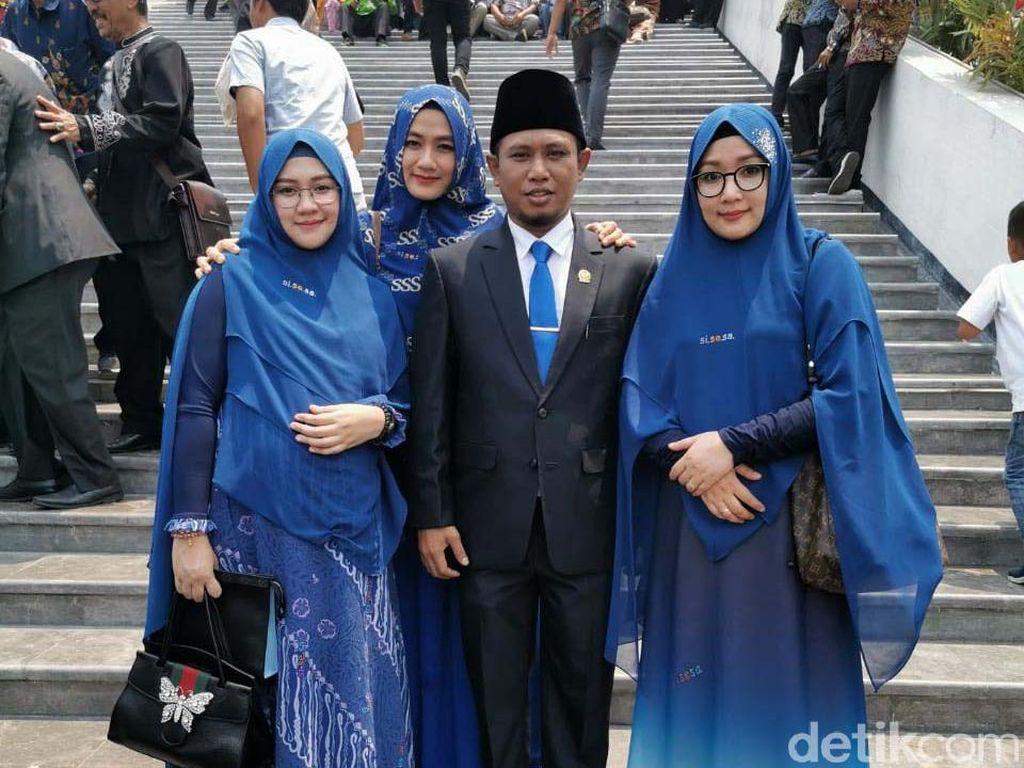 Anggota DPR Pamer 3 Istri, Ini Gaya Mewah Istri-istrinya