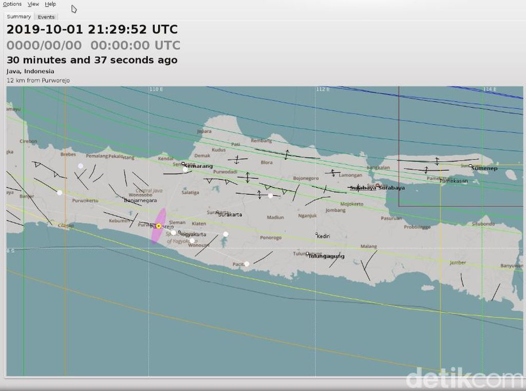 Pusat Gempa Darat di Kulon Progo Hanya 19 Km dari Bandara YIA