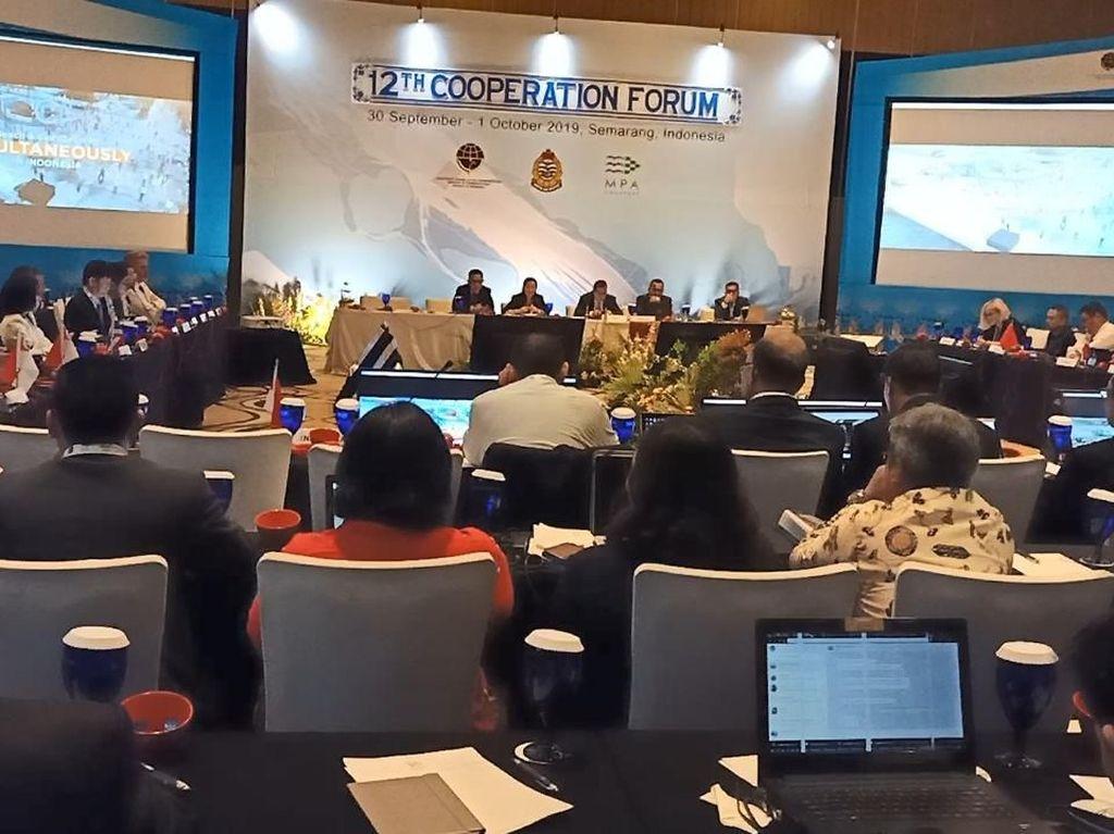 Cooperation Forum Apresiasi RI dalam Mengatasi Sampah Plastik di Laut