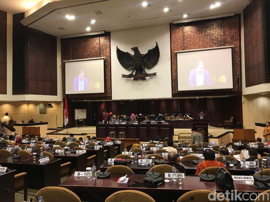 Paripurna Lanjut, DPD Sepakat Pemilihan Pimpinan MPR Lewat Voting
