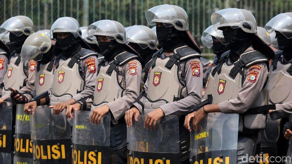 Jaga Demo Buruh, Ribuan Personel Gabungan Siap Amankan Gedung DPR