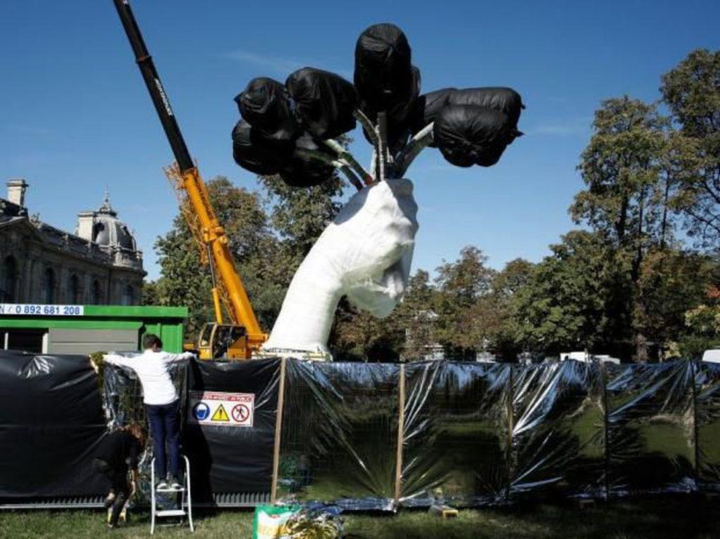 Patung Tulip Jeff Koons Dikritik, Ini Kata Sang Seniman