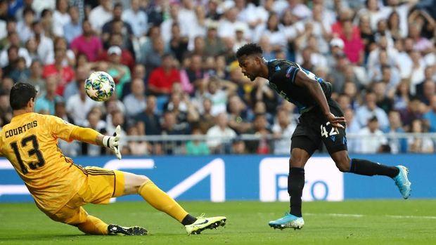 Sengit dan Dramatis, Real Madrid Vs Brugge Tuntas 2-2