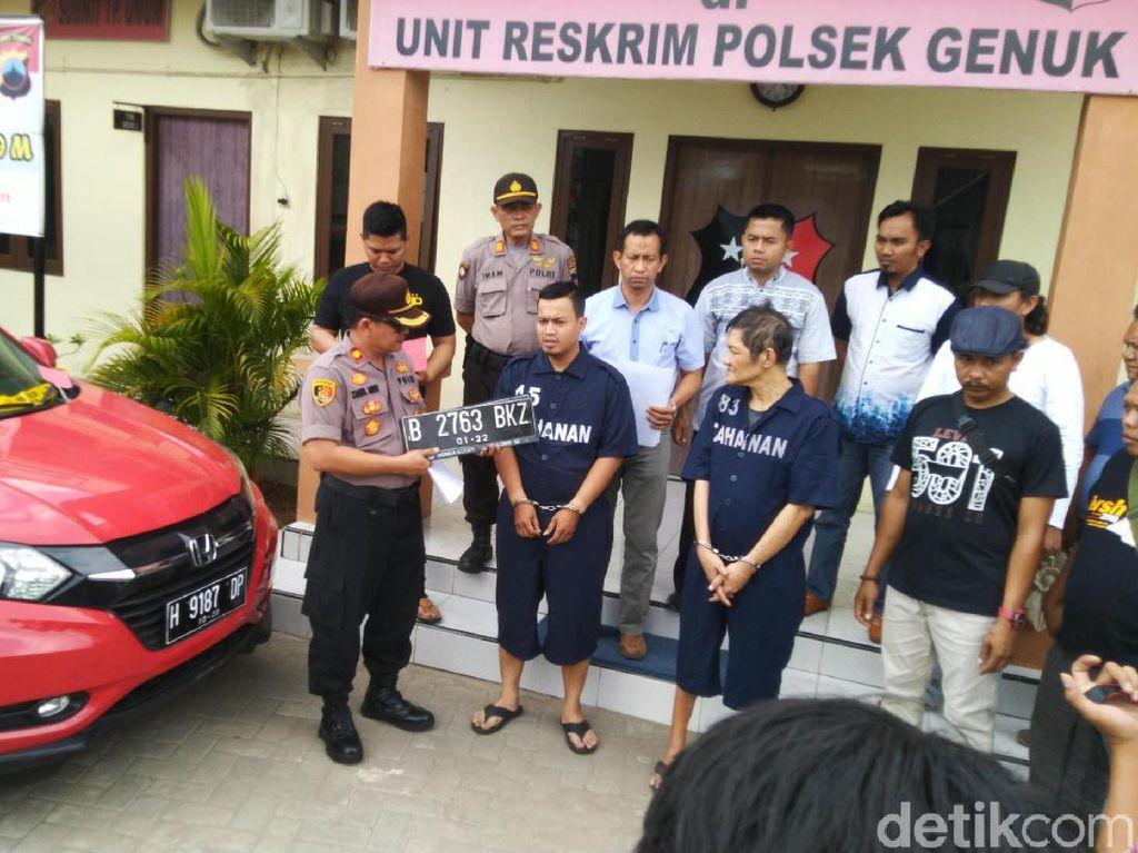 Mengaku Sakit Hati, Pria di Semarang Curi Mobil Saudaranya