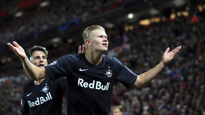 Real Madrid dikabarkan mengincar Erling Haaland (Foto: AP Photo/Jon Super)
